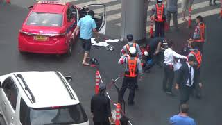Unfair Fight in Bangkok, Thailand (Eight Against One)