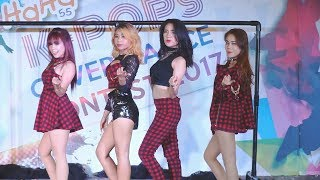 figcaption 170930 Bavis cover miss A - Hush + Love Song + Good-bye Baby @ HaHa Cover Dance 2017 (Final)