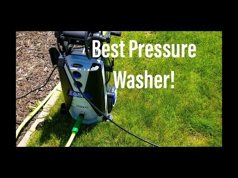 AR Blue Clean AR390SS Pressure Washer Review