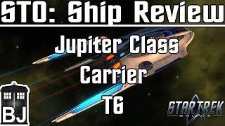 star Trek Online - Jupiter Class Carrier T6 - Review
