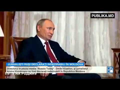 Directorul unui trust media şi un jurnalist rus, persoane indezirabile în Moldova