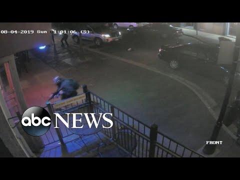 Video shows chaos as suspected Dayton gunman tried to enter bar