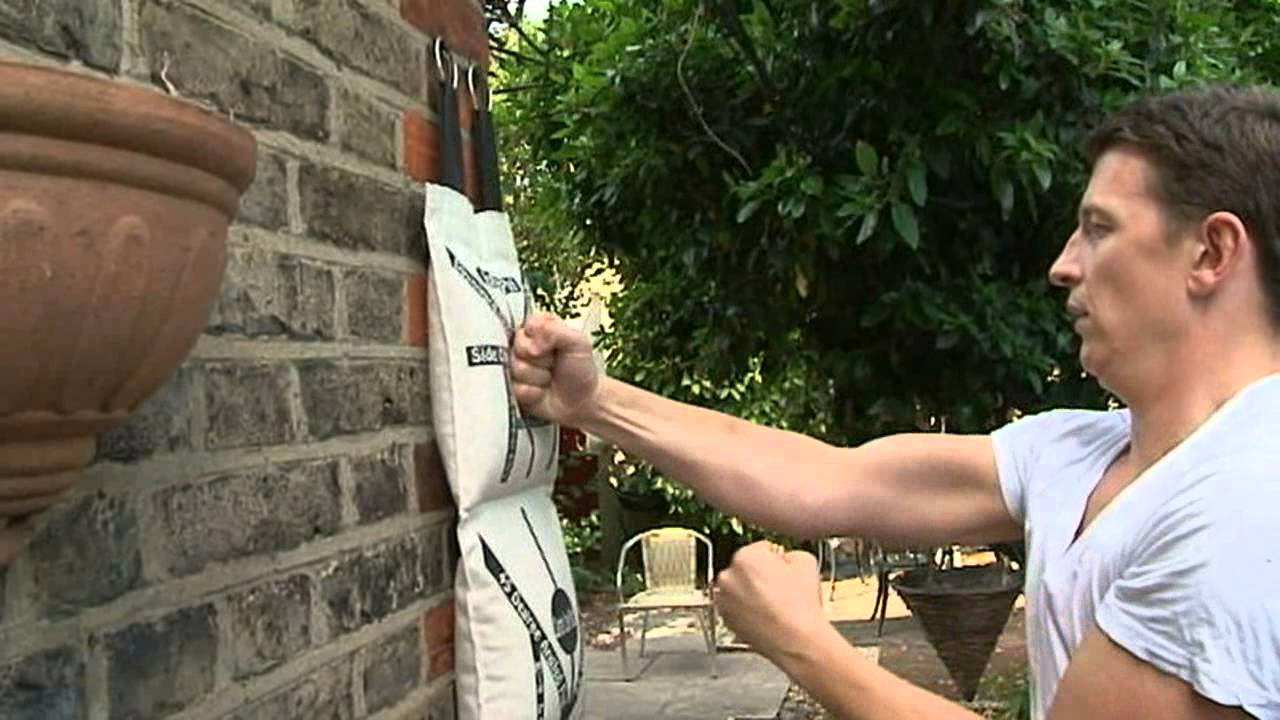 Wing Chun Wall Bag Training Youtube