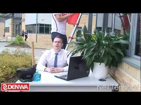 The Denwa ALS ice bucket challenge