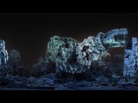 Руины механизма - фрактал 360° 4K High Bitrate видео для VR