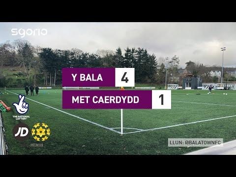 Bala Town Cardiff Metropolitan Goals And Highlights