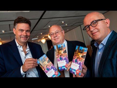Presentatie nieuwe city guide 'Welcome to Maastricht'