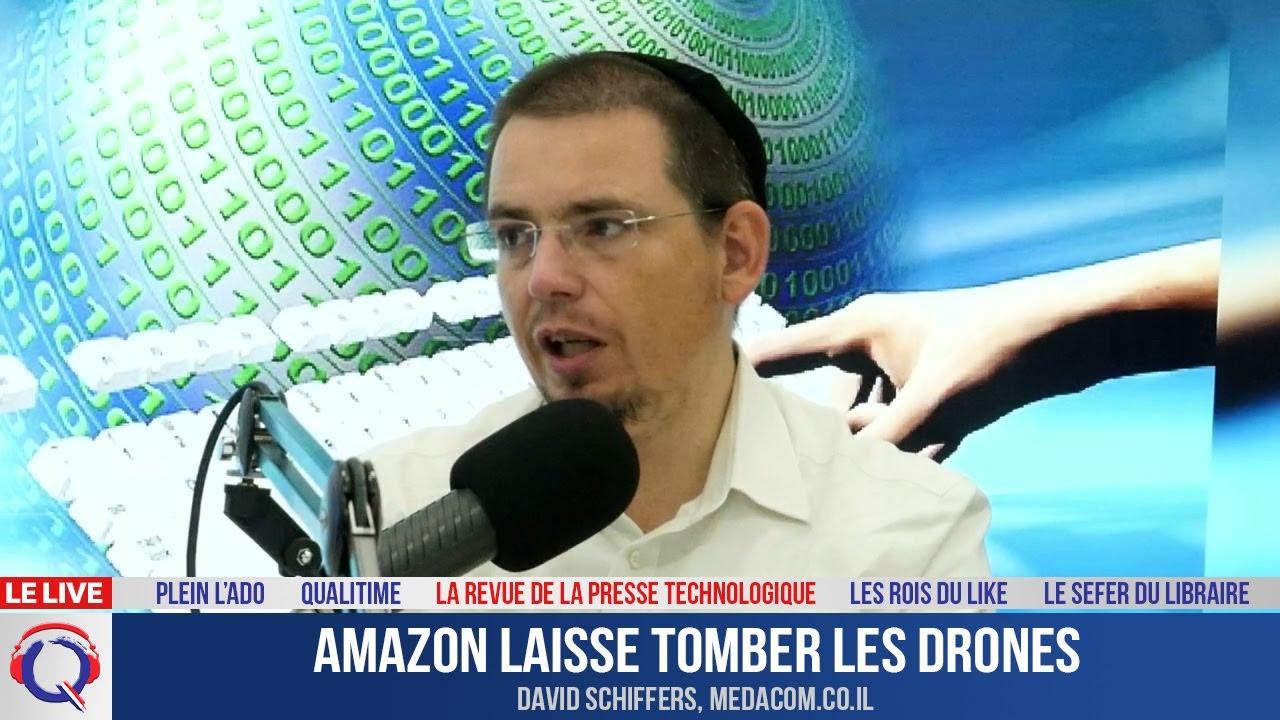 Amazon laisse tomber les drones - La Revue De La Presse Technologique#17