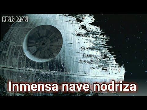 Gigantesca Nave Nodriza muy similar a la estrella de la muerte de Star Wars captada en video