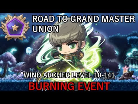 WIND ARCHER LEVEL 10-141 (MapleStory Road to Grand Master Union Ep.38)