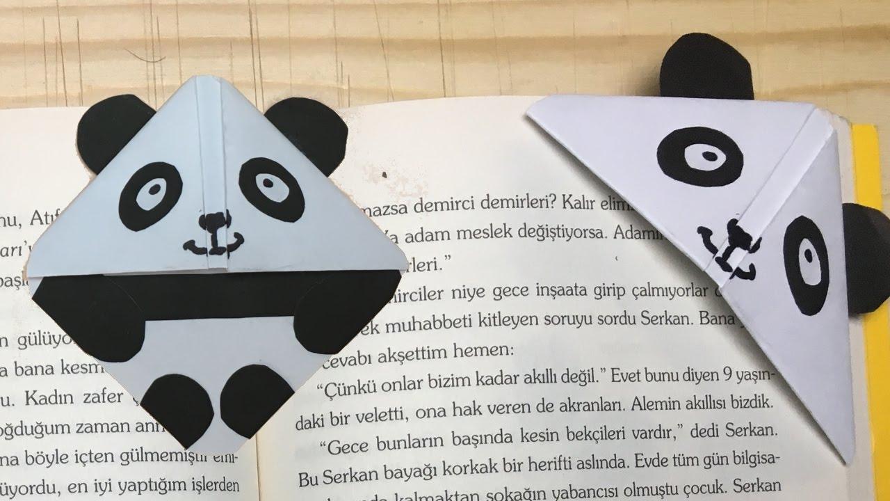 Hayvan Figürlü Kitap Ayracı Yapımı