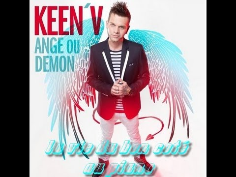 V Album Cover keen'v feat lorelei B : la vie du bon coté au piano - YouTube