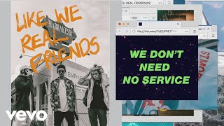 PRETTYMUCH - Real Friends (Lyric Video)