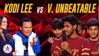 Kodi Lee or V Unbeatable: Which One Is Your FAVORITE To Win? | America's Got Talent