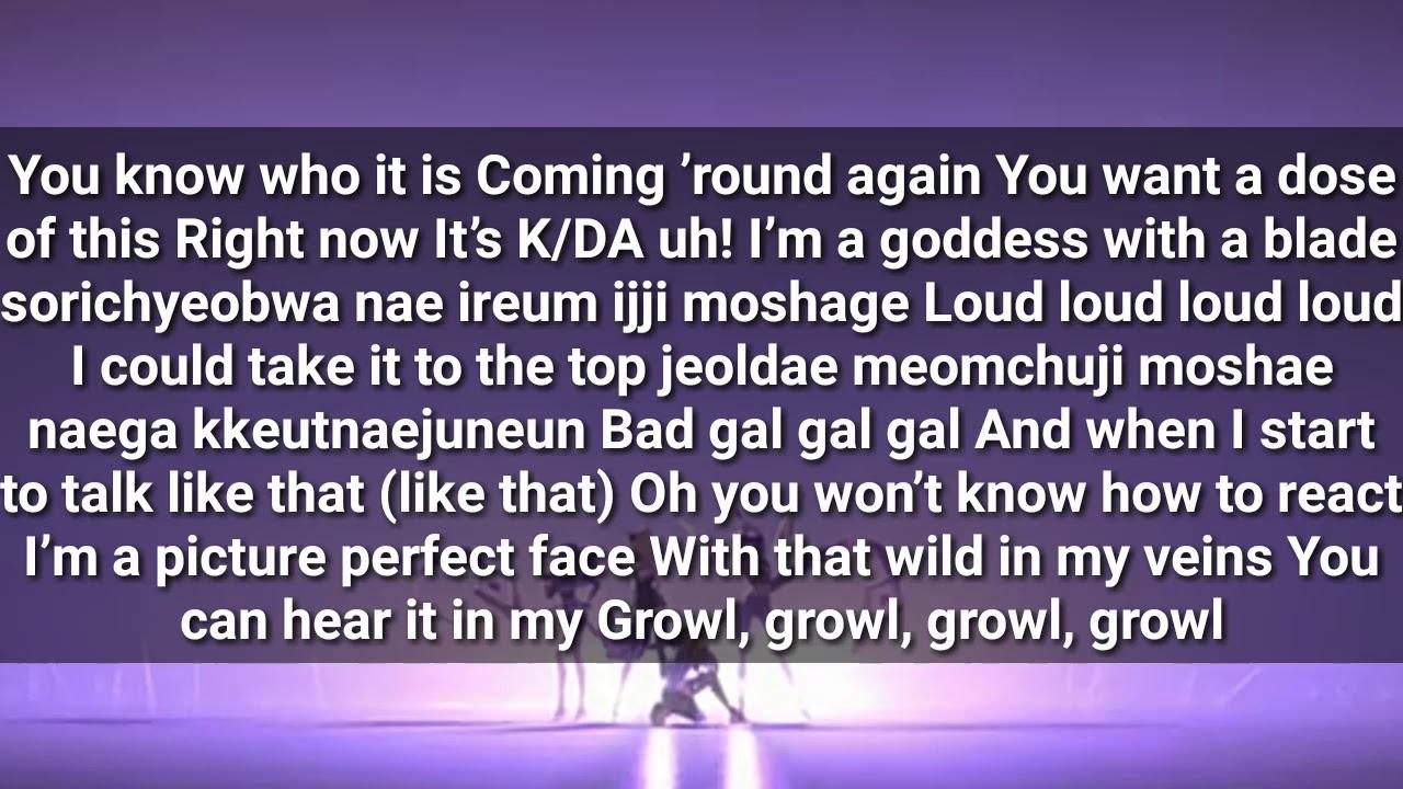 K Da Pop Stars Ft Madison Beer G Idle Jaira Burns Lyrics