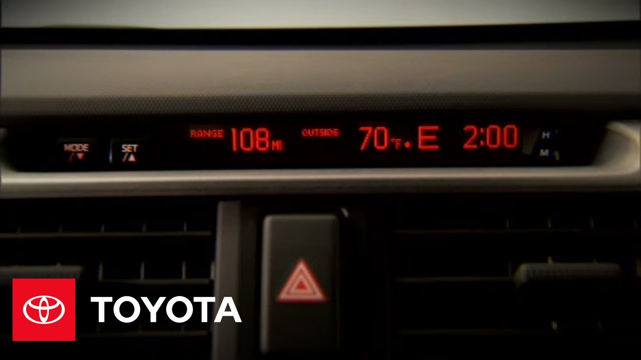 2010 4Runner How-To: Accessory Meter   Toyota