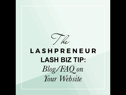 Blog/FAQ On Your Website