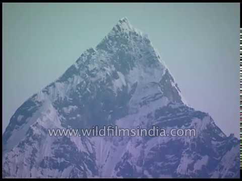 Machapuchare Peak From Pokhara, Nepal