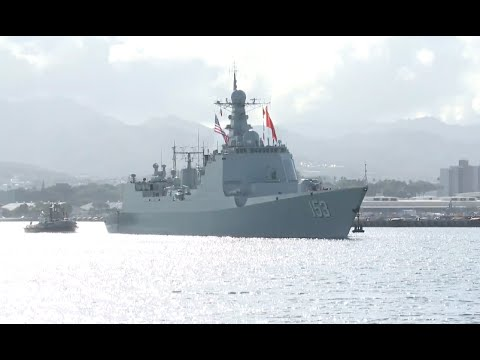 5 Chinese Vessels Leave Pearl Harbor for Exercises at Sea of RIMPAC