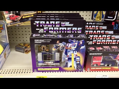 Walmart Soundwave And Buzzsaw Transformers Reissues Found At Retail