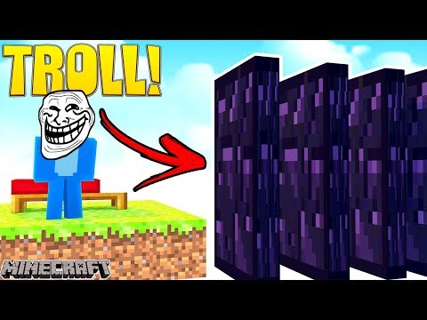 THE ULTIMATE BED WARS TROLL !!! Minecraft Bed Wars w/ Sharky