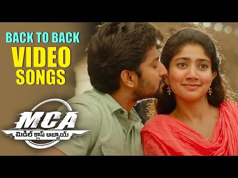 MCA Full Video Songs Back To Back - Nani, Sai Pallavi | Devi Sri Prasad
