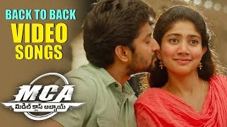 MCA Full Songs Back To Back Nani, Sai Pallavi | Devi Sri Prasad