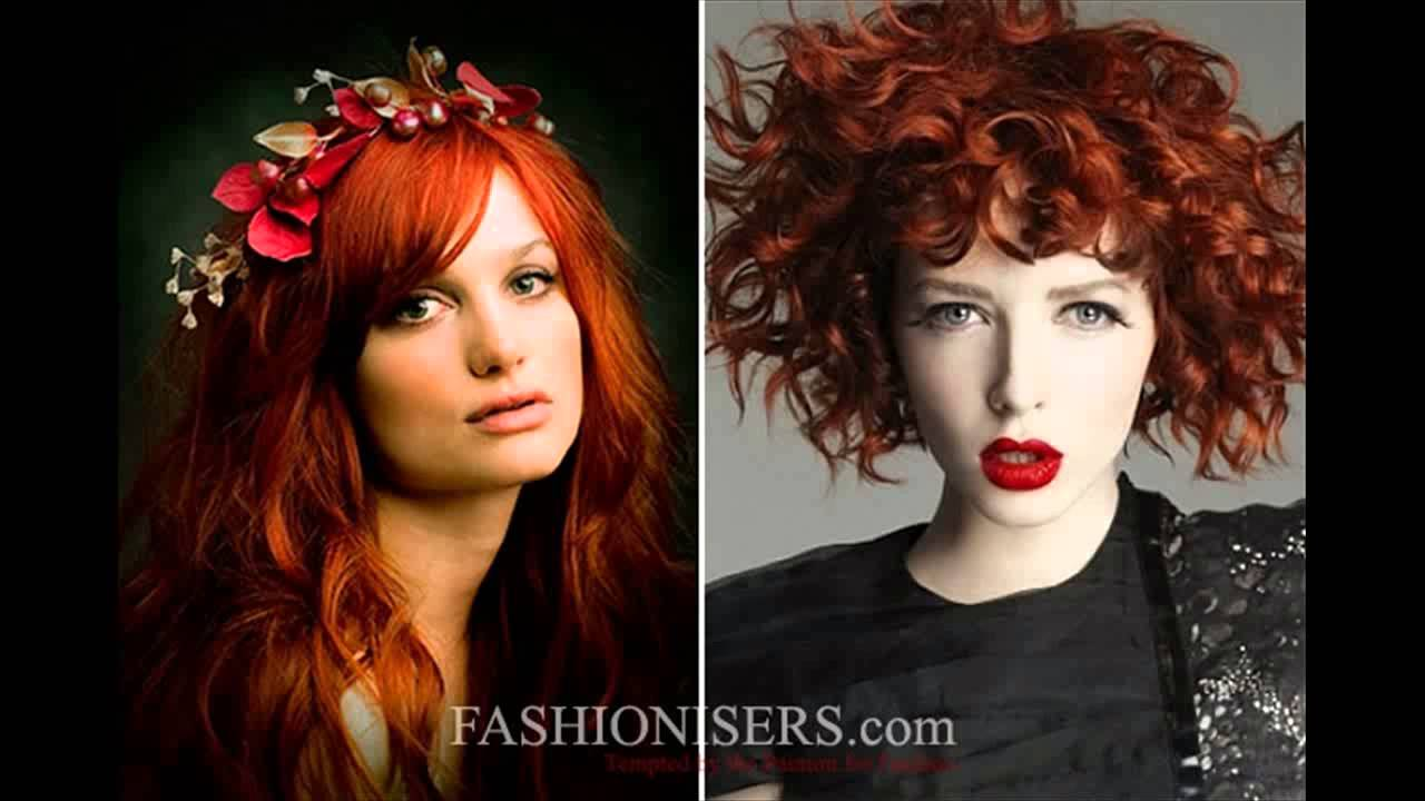 Fashion week Hair red glam color ideas for women for girls