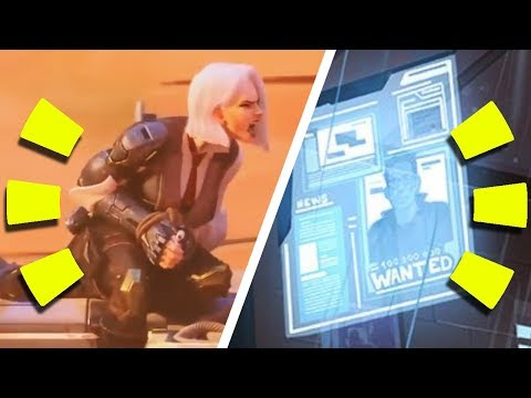 Overwatch - 7 EASTER EGGS in Animated Short (Ashe & BOB) + S