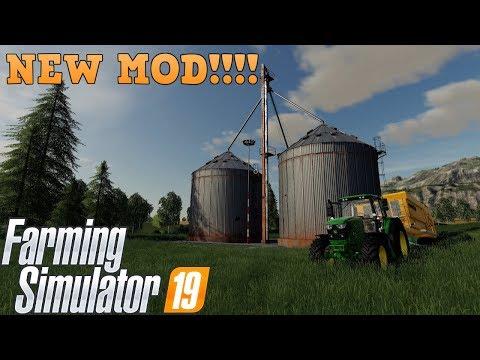 NEW SILO MOD | Farming Simulator 19 - YouTube