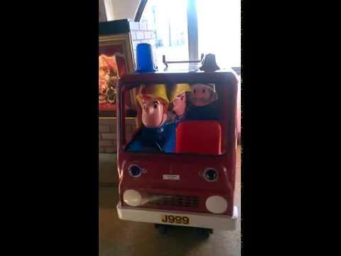 R G Mitchell Fireman Sam Kiddie Ride Doovi