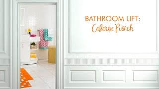 Video Style Series: Colour Punch Bathroom