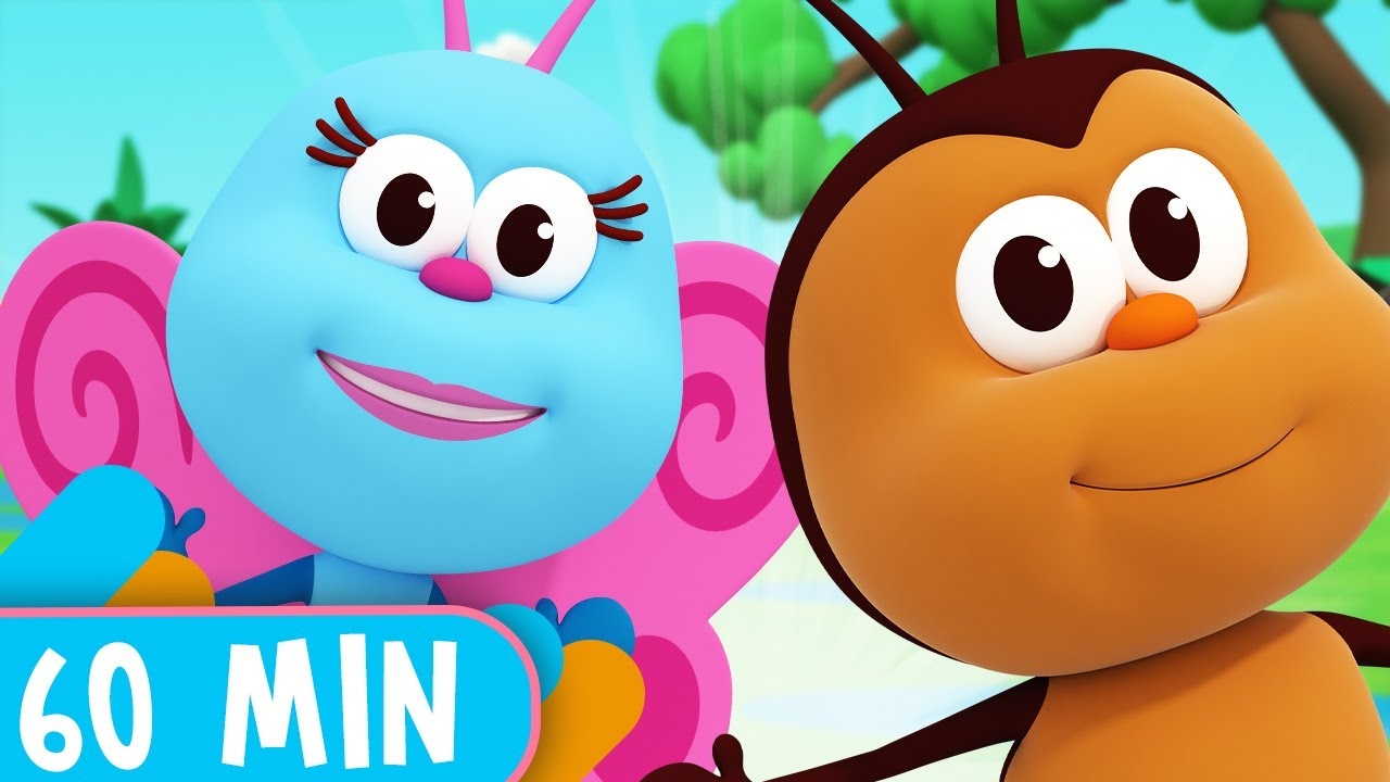 Download 60 Minutes! The Best Little Bugs Songs!  - Kids Songs & Nursery Rhymes