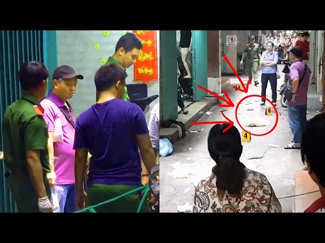 CAMERA ghi lại cảnh một thanh niên bị SÁT HẠI DÃ MAN tại một con hẻm đường Nguyễn Thái Học