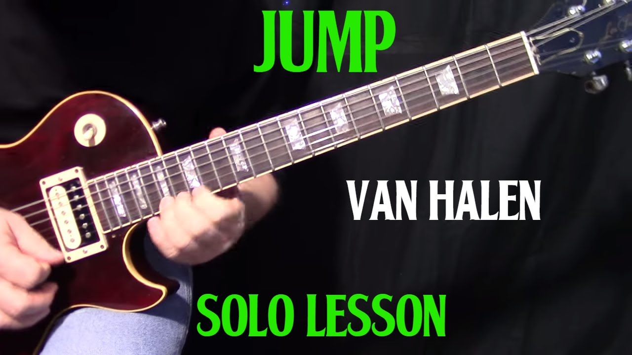 How To Play Jump By Van Halen