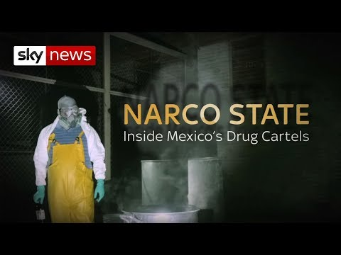 Inside Mexico's Drug Labs | Narco State | Sky News thumbnail