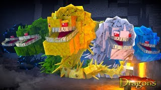 SCREAMING DEATH ARMY JOINS US! - Minecraft Dragons