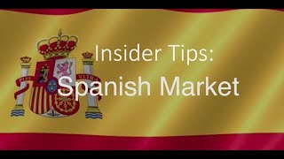 Insider Tips Spanish Market | Barbara Wood from the Tourism Ireland Madrid Office thumbnail