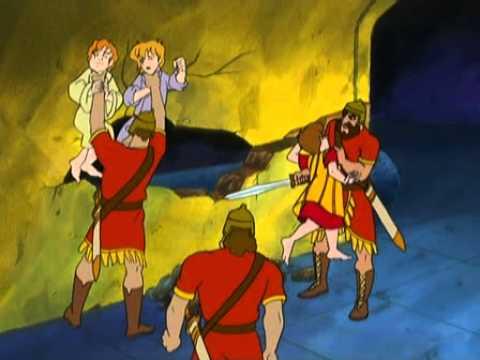 Daniel et la fosse aux lions en dessin anim youtube - Scoubidou en dessin anime ...