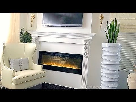 DIY Fireplace Mantel Home Decor DIY Interior Design Ideas Install a Mantel Decorate A Fireplace