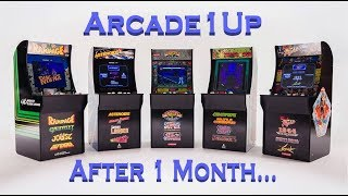 Arcade1Up cabinets and company impressions after a month!