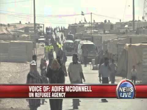 Live from Jordan: Inside the Zaatari Refugee Camp