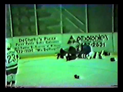 José Charbonneau vs. John English AHL 23/11/88