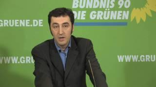 Cem Özdemir zum Datenschutz für Arbeitnehmer - 16.02.2009