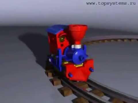 анимация pov ray