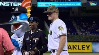 PIT@MIA: Marlins broadcast talks Memorial Day jerseys The Marlins booth discusses the military-designed camouflage jerseys being worn by all MLB teams on Memorial Day Check out m.mlb.com/video for our ...