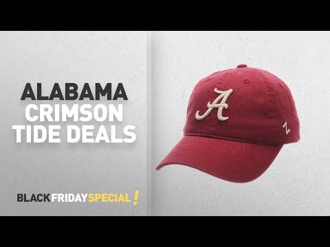 Black Friday Alabama Crimson Tide Deals: NCAA Alabama Crimson Tide Men's Scholarship Relaxed Hat,