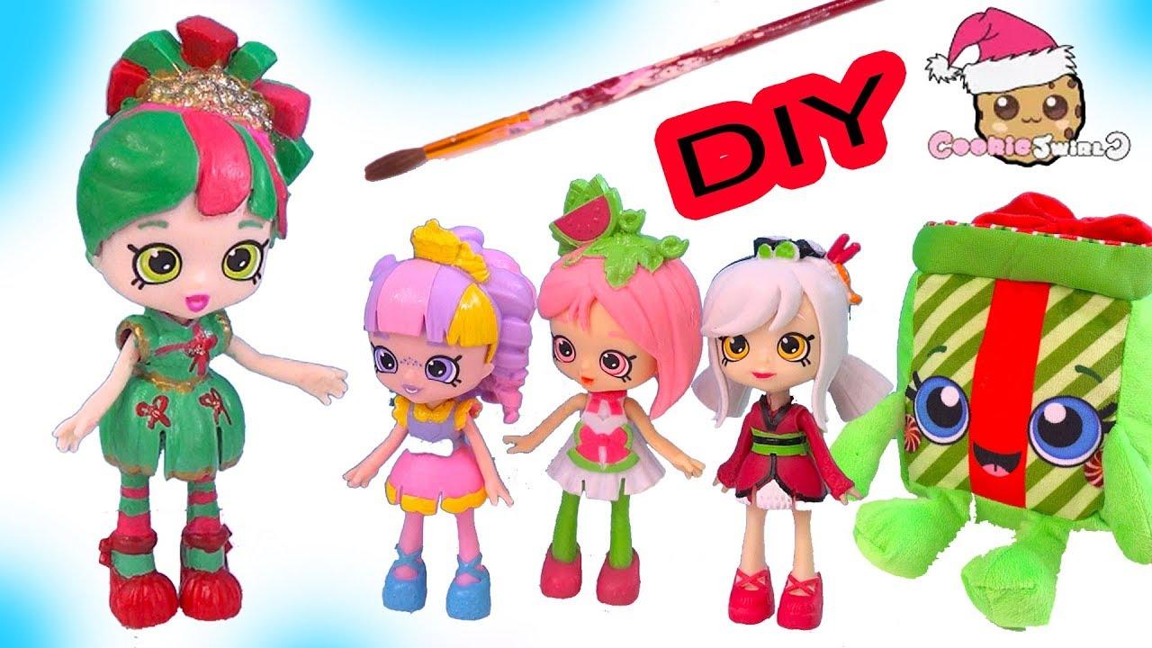 Diy custom painted happy places shopkins christmas holiday doll do diy custom painted happy places shopkins christmas holiday doll do it yourself video solutioingenieria Gallery
