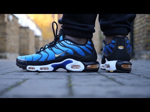 Classic! Air Max Plus OG 'Tuned 1' Review & On Feet (Hyper Blue/Black) *2018* thumbnail