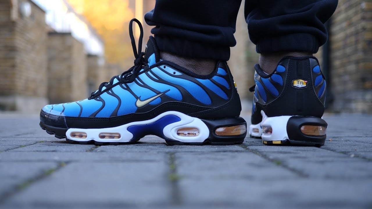 plus récent 2c296 ba86b Classic! Air Max Plus OG 'Tuned 1' Review & On Feet (Hyper Blue/Black)  *2018*